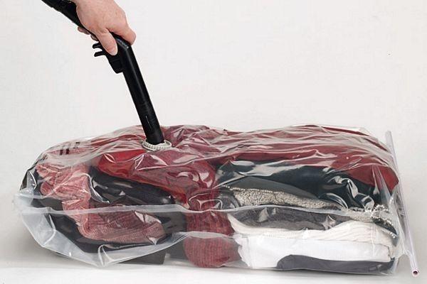 Using Vacuum Storage Bags